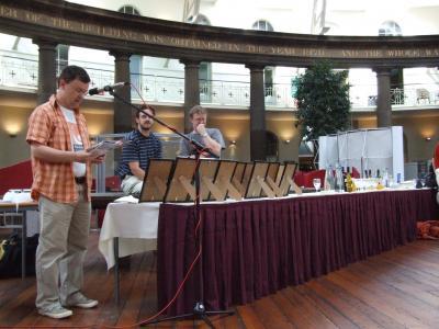 Awards Ceremony 2007 - Photo Alex Boydell