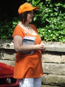 all in orange