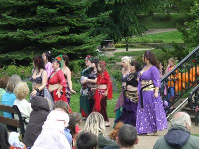 Belly Dance Flames