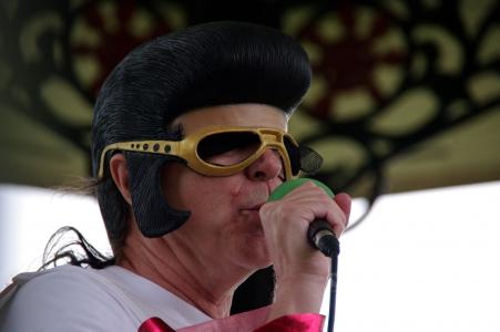 Elvis at the Fringe!