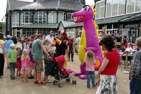 Has anyone seen a pink dragon?