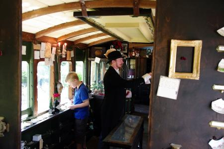 Inside the Carriage of Curiosities