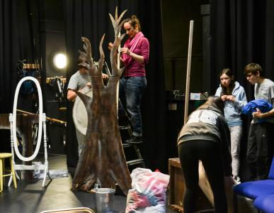 Behind the scenes with REC Youth Theatre Co
