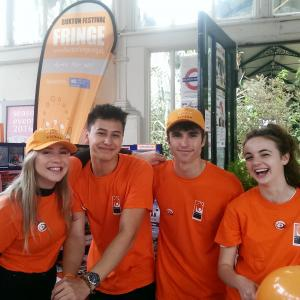 Volunteers from Buxton Community School