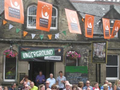 Underground at Fringe time (credit: Stephanie Billen 2018)
