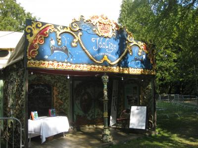The Spiegeltent (credit: Stephanie Billen 2018)
