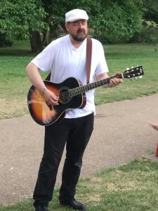 Will Hawthorne entertains for Fringe @ Five (KS)