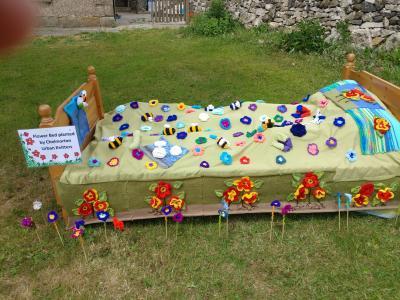 Flower Bed at Chelmorton Village Festival (DO)