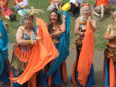 The Belly Dance Flames (KS)