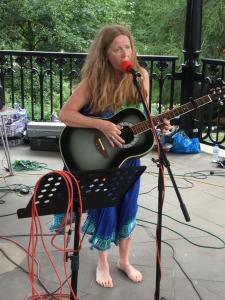 Singer songwriter Cathy Rimer (KS)