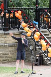 Brain Rinse's Mike Raffone at Fringe Sunday 2018