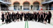 Singing at Victoria Baths, Manchester