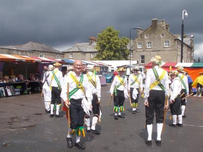 Morris Dancers at Buxton's Day of Dance (SS 2019)