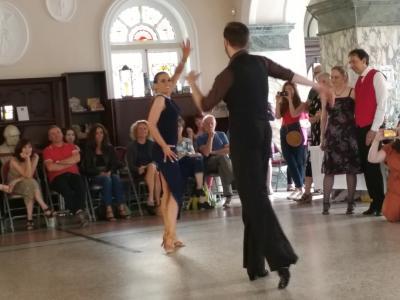 Havana Nights from Wallflower Dance: Joanna and Simon (credit: Dan Osborne 2019)