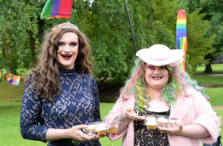 Out and about at Buxton's Gay Pride Picnic (credit: Dave Upcott 2019)