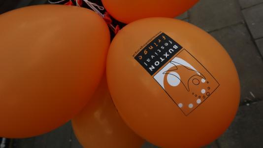 Fringe balloons (credit: Ian J. Parkes 2019)