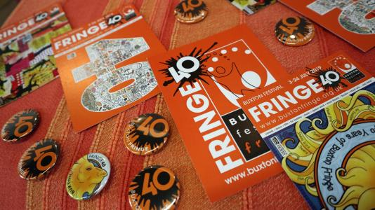 Fringe goodies at Fringe40 (credit: Ian J. Parkes 2019)