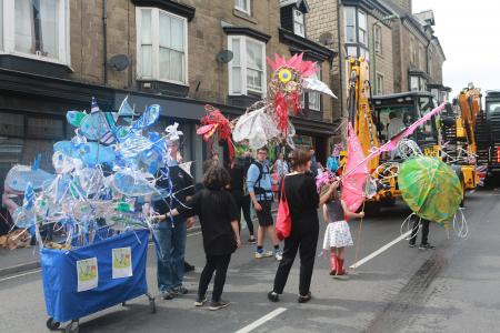 Our animal parade  on Carnival Day (credit: Ian J. Parkes 2019)