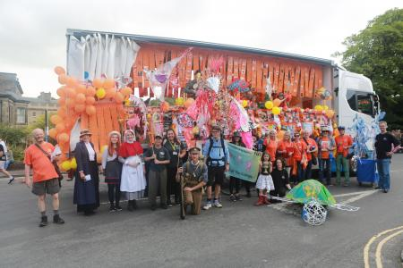 Group carnival shot - what a fantastic team effort! (credit: Ian J. Parkes 2019)