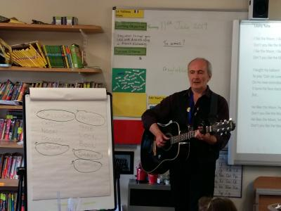 Musician Paul Cromford took advantage of our Community Links scheme and had a life-changing experience working with students at Fairfield Endowed Junior School.