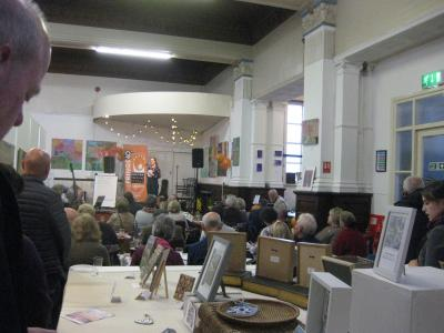 A chance to look at some exhibits at The Green Man Gallery