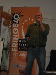 Spoken Word artist Jimmy Andrex