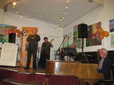 Sam Slide and band