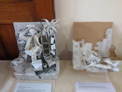 Figure sculptures by Frances Boaler