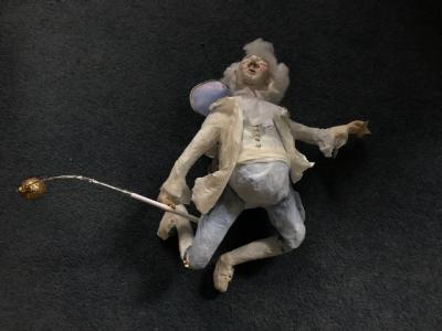 18th-century ghost fairy (startled at his own demise!) (credit: Frances Boaler)