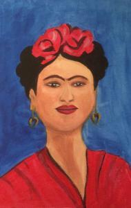 Frida Kahlo, acrylic (credit: Jane Barson)