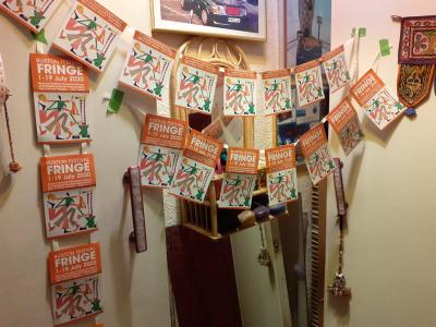 Fringey Gaye tries out a host of different bunting for 2020