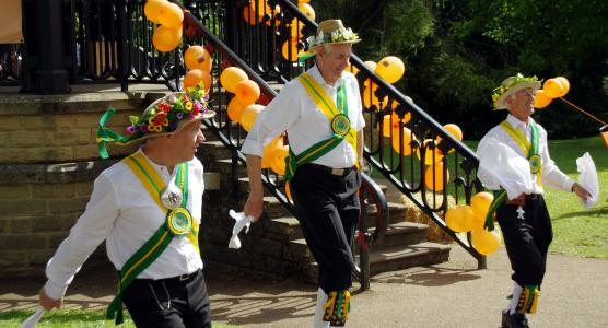 Chapel-en-le-Frith Morris Men 2014 (credit: Donald Judge)