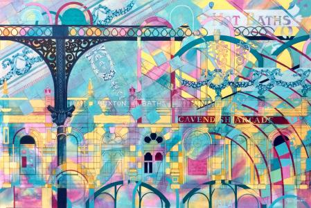 'Cavendish Kaleidoscope' painting by Pam Smart
