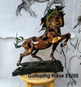 Galloping Horse - Tony Evans