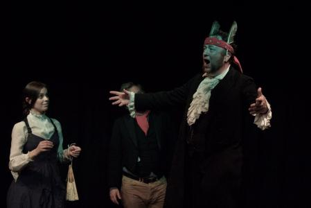 The Donkey Prince sings (credit: Grant Jamieson)
