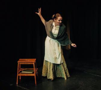 Emily Ingram as Old Marie (credit: Grant Jamieson)