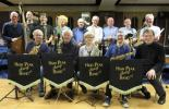 H/P Big Band in rehearsal