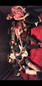 Tidal in rehearsal