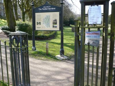 Site of first theatre (credit: Mark P Henderson)