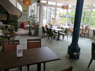 Pavilion Gardens restaurant (credit: Stephanie Billen)