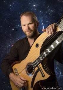 Jon Pickard - Magical music on 'Harp-Guitar'