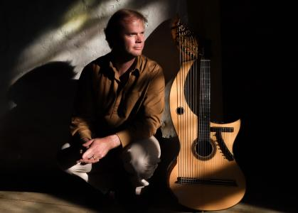 Jon Pickard - 'Harp-Guitar'